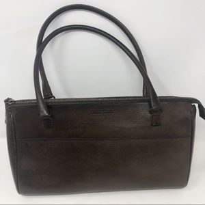 Miu Miu Vintage brown leather satchel